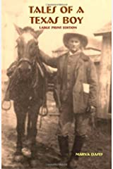 Tales of a Texas Boy - Large Print Paperback