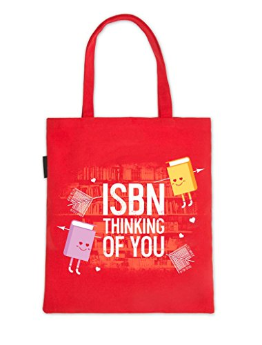 Book Riot by Out of Print ISBN Thinking of You Tote Bag by Out of Print