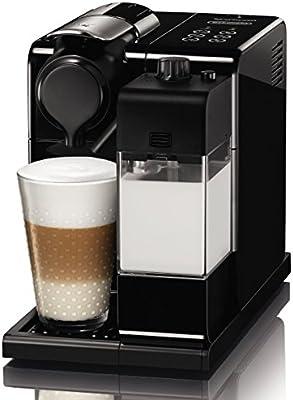 Nespresso DeLonghi Lattissima Touch EN 550B-Cafetera de cápsulas, 19 bares, apagado automático, depósito de leche, táctil, color Glam Black: 231.99: Amazon.es: Hogar