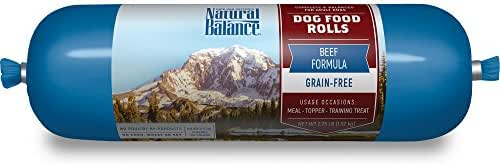 Dog Food: Natural Balance Dog Food Rolls