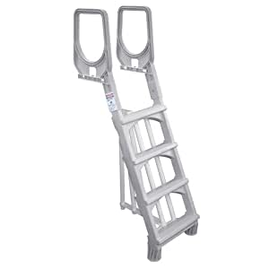 Splash pools heavy duty in pool ladder 48 to 54 inch swimming pool ladders for Does lowes sell swimming pool supplies