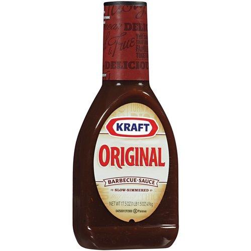 KRAFT BBQ SAUCE ORIGINAL 17.5 OZ