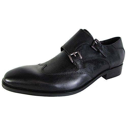 Monk Mens LE Strap Oil York Kenneth Shoes Burning Black Cole New wPAqTP