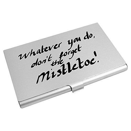Forget Se Visita ch00009924 'no Crédito Muérdago Credit Tarjeta ' Card De Mistletoe Carpeta Wallet Holder El Card Azeeda Azeeda Olvide La De ch00009924 The ' Titular Business Tarjeta De 'don't 0wU0q15