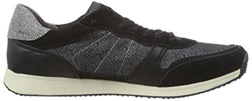 23602 Blk Wht Struct Sneakers Tamaris Damen 051 Mehrfarbig 81q6H6