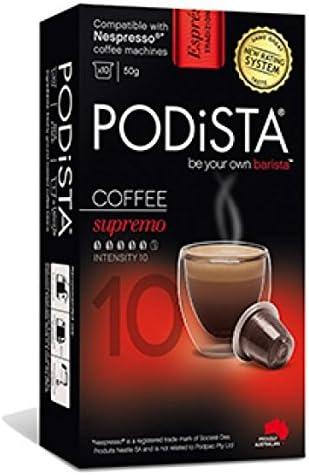 Nespresso Compatible Coffee Pods 6 Pack 60 Pods Supremo