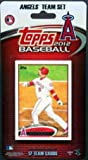 2012 Anaheim Angels Topps Factory Sealed Baseball 17 Card Team Set