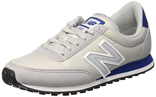 New Balance Unisex-Erwachsene U410rig D Running Classics Sneaker, Rot Grau (Light Grey)