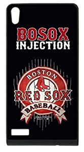 Boston Red Sox Retro Vintage Case Cover for HuaWei P6