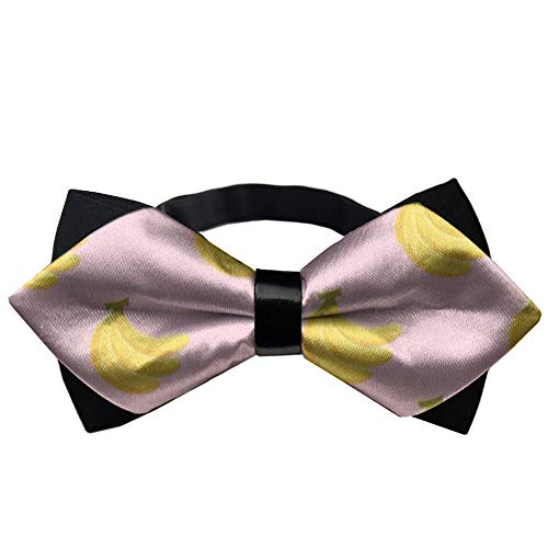 YEAHSPACE Banana Fruits Gift Teen Party Pre-Tied Outfits Bow Ties