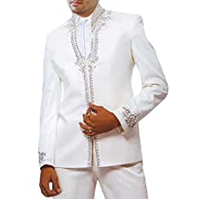 INMONARCH Mens Marvelous Perfect Look White 2 Pc Jodhpuri suit JO127