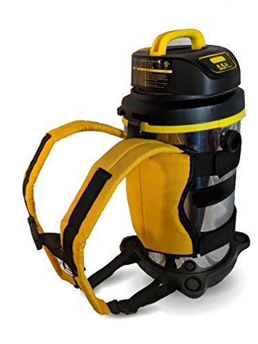 Backpack for Outdoor Wet Dry Vacuums (Gold)