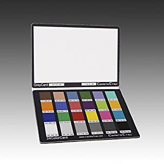 CameraTrax 24ColorCard-3x5 (OneSnapColor) with White Balance and User Guidebook