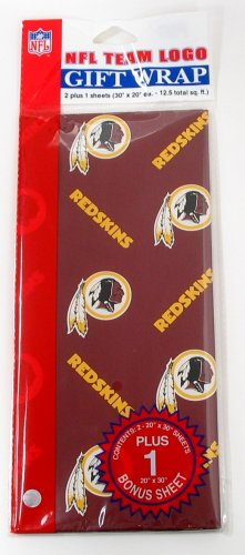 NFL Washington Redskins Wrapping Paper