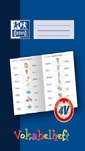 Oxford 311401626/100057955Cahier de vocabulaire Format A4 16feuilles Bleu foncé
