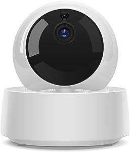 1080p Full Hd Wireless Online Web Camera 2-Way Audio Baby Monitors Pet Camera/White/TPB/US