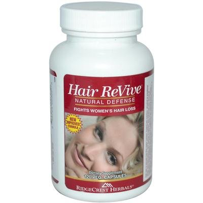 Ridgecrest Herbals Hair Revive Nat Defense 120 Cap