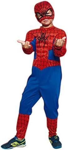 Disfraz Superhéroe Spider (7-9 años) (+ Tallas) Carnaval ...