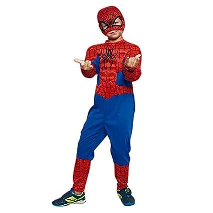 Disfraz Superhéroe Spider (3-4 años) (+ Tallas) Carnaval Superhéroes Nueva GENERACION