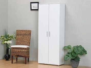 Beau XL Schuhschrank Aufbewahrungsschrank Kleiderschrank Garderobe Flur Schrank  Weiß