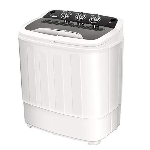 Amazon.com: VIVOHOME - Lavadora eléctrica portátil 2 en 1 ...