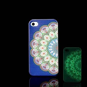 ZL iPhone 4/4S compatible Graphic/Special Design/Glow in the Dark Back Cover