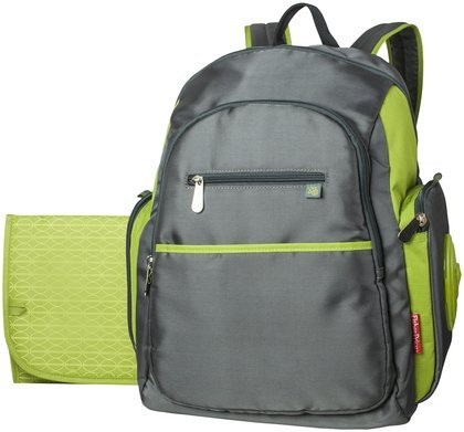 Fisher Price Sporty Backpack - Grey/Green