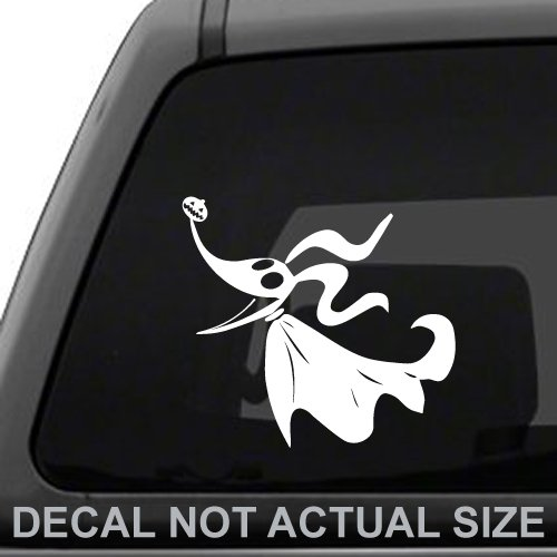 Zero From Nightmare Before Christmas Disney Nightmare Before xmas Jack Skellington And Family Vinyl For Laptops And Windows Halloween Decal Sticker White Car Laptop Decal Sticker Boat