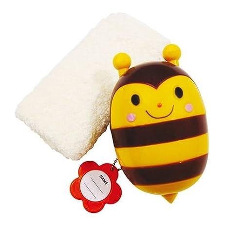 Set kawaii con toalla y estuche en forma de abeja de Japón: Amazon.es: Juguetes y juegos