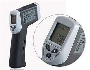 Conseguir DT-320 Termómetro infrarrojo (gris)