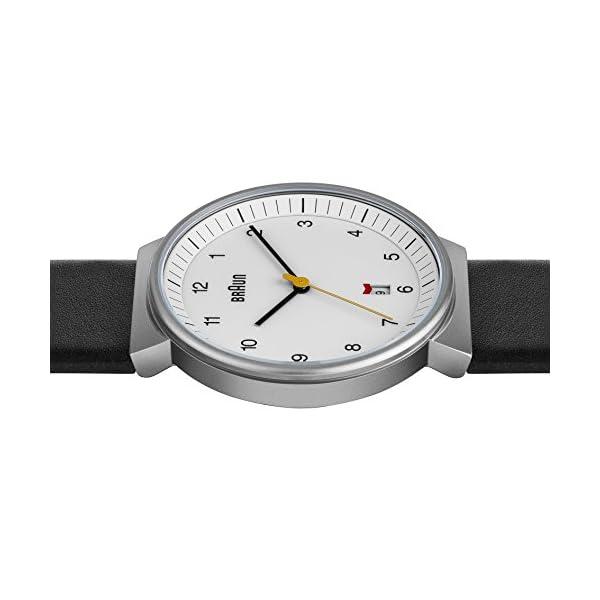Braun-Mens-BN0032WHBKG-Classic-Analog-Watch-w-White-Display-and-Black-Band