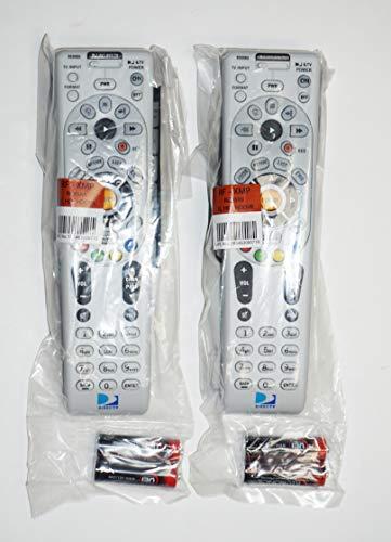 RC65RX 2 Pack NEW DirecTV Remote RC65RX HD/DVR HR24 HR34 H24 H25 RF/IR + 2AA BATTERIES