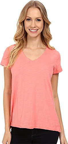 mod-o-doc-womens-sueded-slub-jersey-short-sleeve-v-neck-tee-cafe-coral-t-shirt-md-us-8-10