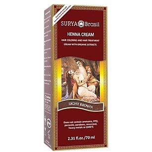 Henna Cream Light Brown - 2.3 OZ,(Surya Amazonia Preciosa)