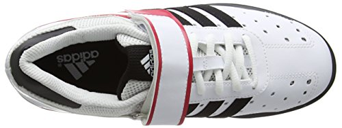 Bianco Perfect Indoor adidas Unisex Scarpe Power II Sportive Adulti 5qUZU8HWw