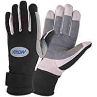 MOTIVEX–Guantes Neopreno toda dedos, Palmas reforzado, guantes