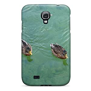 New Premium Williamwtow Two Little Ducks Skin Case Cover Excellent Fitted For Galaxy S4
