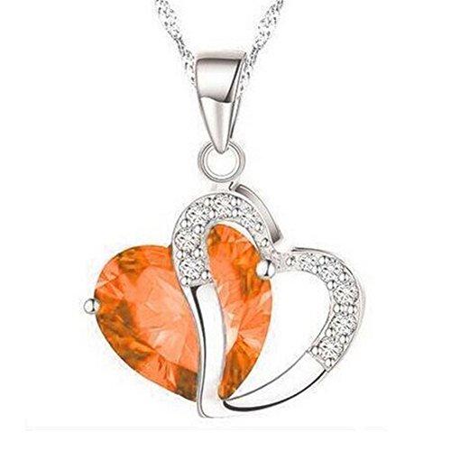 Yuntun Ladies Diamond Heart Pendant - Calgary Indian Stores