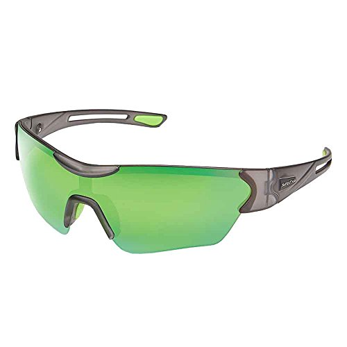 Suncloud Hotline Polarized Sunglasses, Matte Smoke, green - Lens X-line Smoke