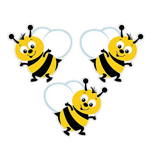 Fun Express - Bulletin Board Bumblebee Cutouts - Educational - Classroom Decorations - Bulletin Board Decor - 48 Pieces]()