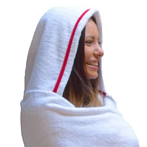 Teen Girl's Hooded Towel from TowelHoodies (70''x35'') by Towelhoodies.com