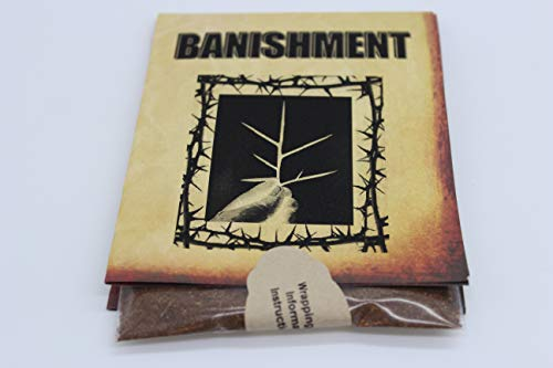 Wild Sage Naturals Banishment Hand Blended Artisan Powdered Incense 3X Powerful