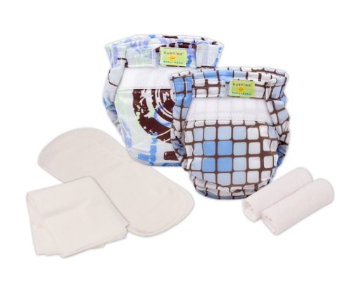 (Kushies Reusable Ultra-lite Diapers Trial Pack)
