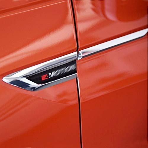 MTAWD ABS 4MOTION Car Side Wing Fender Emblem Badge for Volkswagen VW Tiguan 2018 (with 4MOTION Letter) ()
