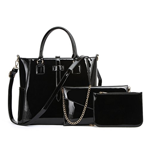 Chloe Tote Bag Black - 7