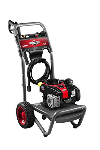 Briggs & Stratton Gas Pressure Washer 2200 PSI 1.9 GPM with 3 Nozzles, 25' High-Pressure Hose & Detergent Injection Briggs And Stratton Pressure Washer