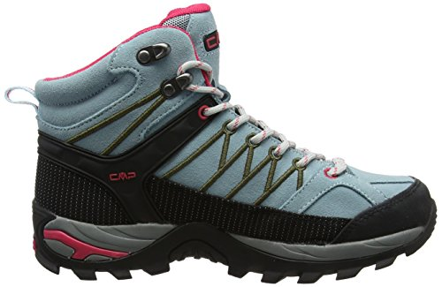 Hiking tortora ibisco High CMP Anice Turquoise Magenta Boots Women's Rigel Rise Wood TvxRpqI