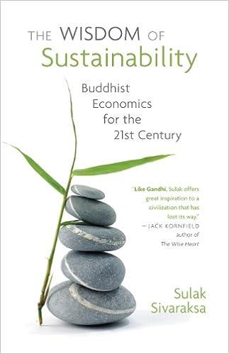 The Wisdom of Sustainability: Sulak Sivaraksa: 9780982165614 ...