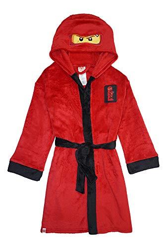 LEGO Ninjago Little/Big Boys Costume Plush Robe, Kai Red New, 6/7, 6-7
