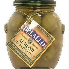 Giuliano Almond Stuffed Olives, 7 Ounce (Pack of 6)
